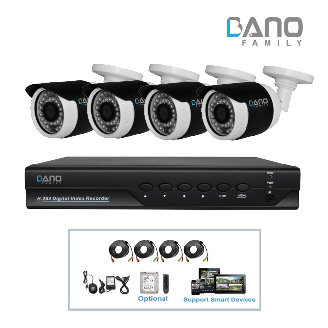 BA-AK1136W AHD DVR Kit