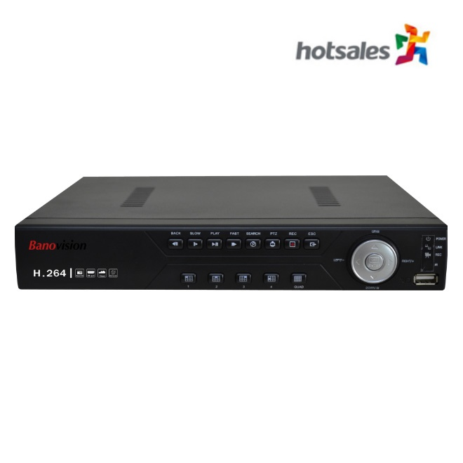 BA-2D2204HE  4 CH 4MP DVR with 2 HDD