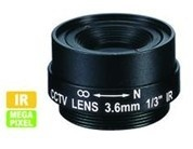 1.3Mp Mega-Pixel Fixed Iris Lens
