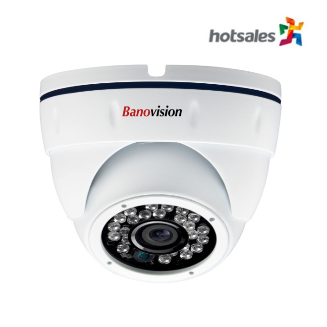 1.3 - 2.0MP 24 pcs IR Dome Camera