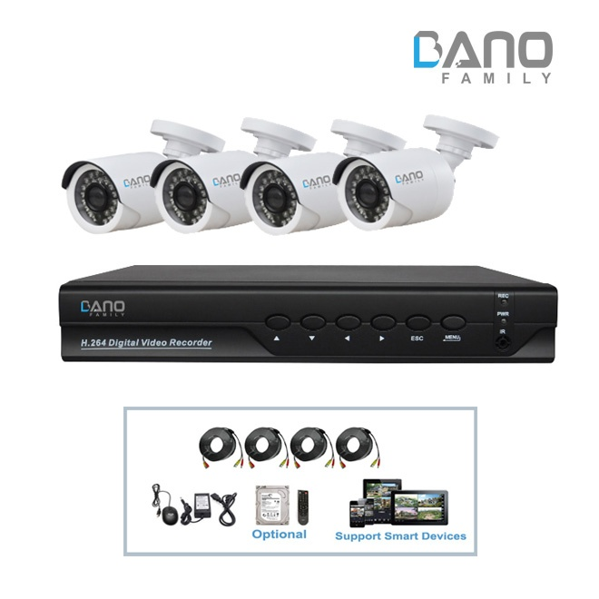 BA-AK2224W AHD DVR Kit
