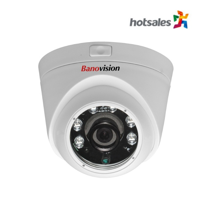 2.0 - 5.0MP 6 pcs IR Dome Camera
