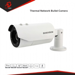 Uncooled Fpa IP CCTV Thermal Imaging Camera in CCTV Camera