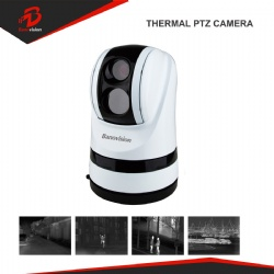 Security IP67 Vehicle Camera IP Thermal Imaging PTZ Dome CCTV Camera