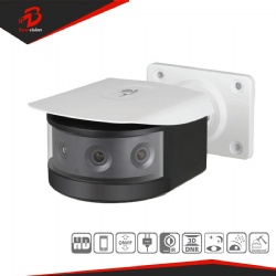 H.265 4x2MP Multi-Sensor Panoramic IR Bullet Network Camera